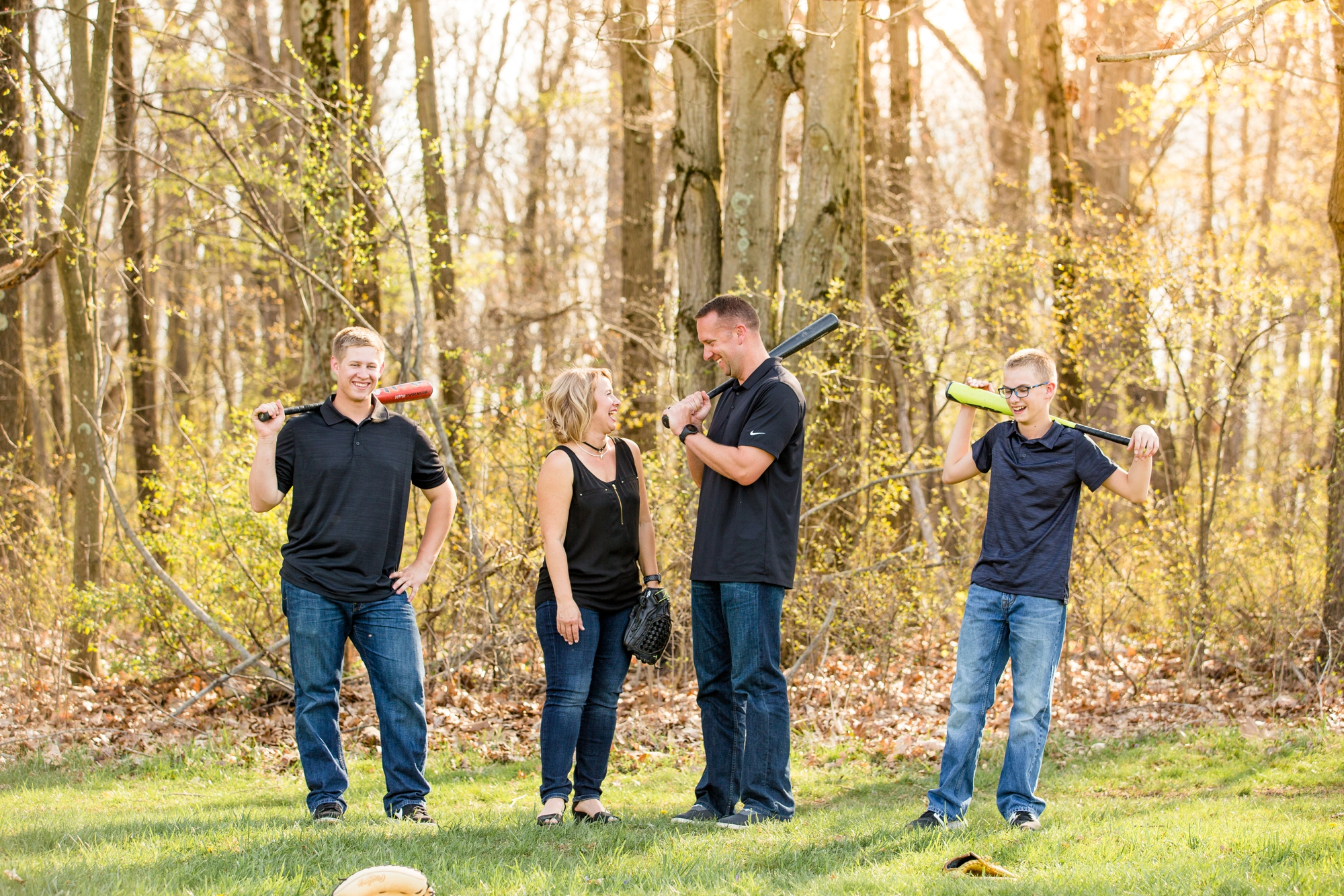 pittsburgh family photographer, cranberry township family photographer, wexford family photographer, north park family photos