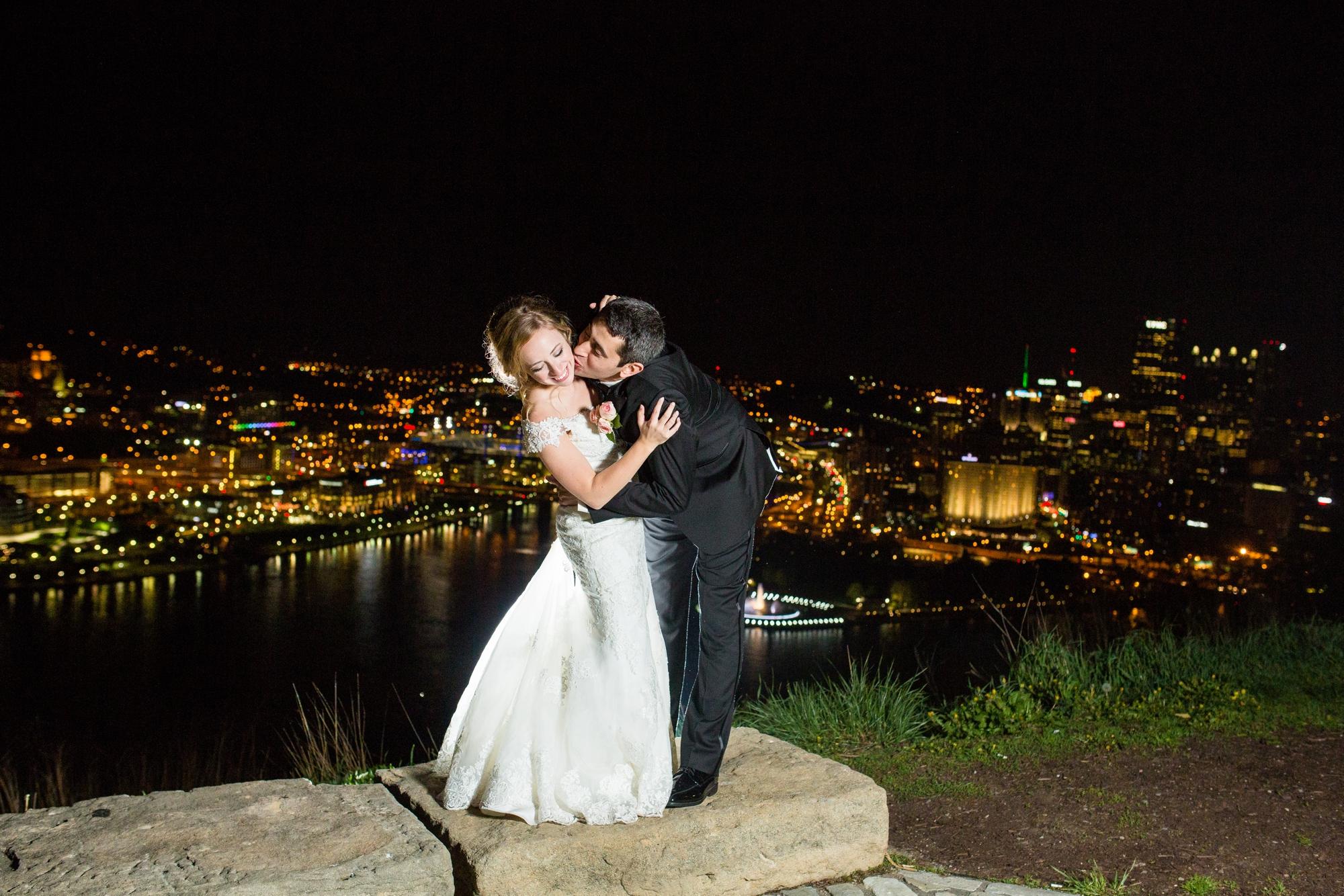 On Mount Washington in Pittsburgh, PA