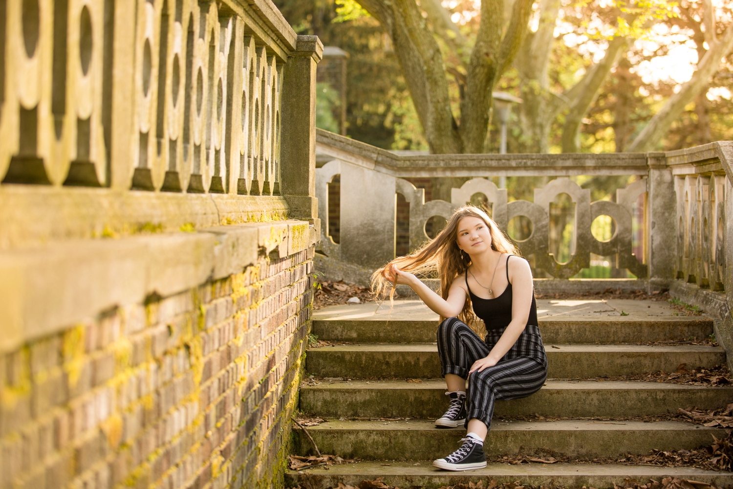 pittsburgh senior photographer, pittsburgh senior pictures, location ideas for senior photos, mellon park senior photos, phipps conservatory senior photos, places for photoshoot in pittsburgh