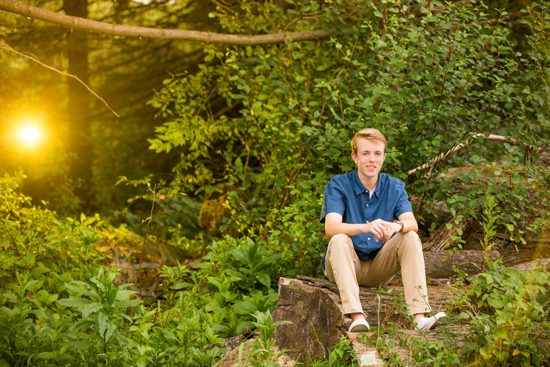 succop nature park senior photos, butler senior photos, pittsburgh senior photographer, butler senior photographers, guy senior photo ideas
