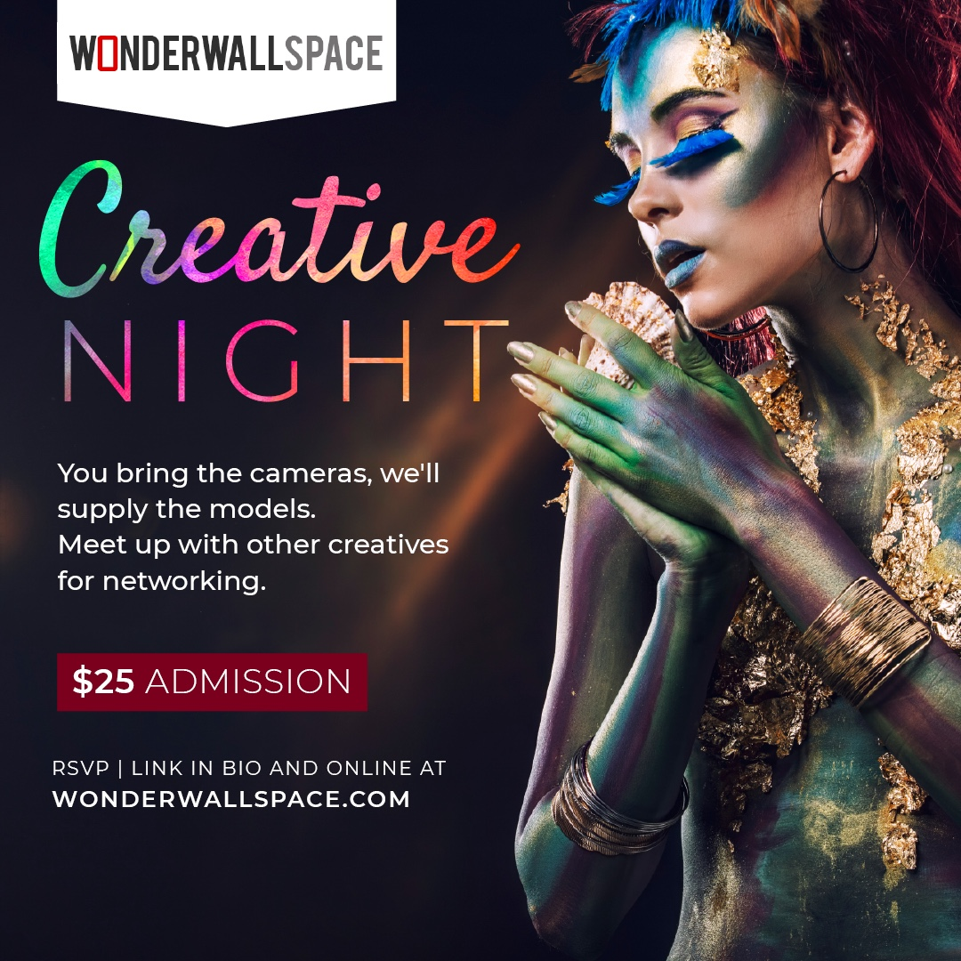 https://www.youtube.com/watch?v=2VD_u_NXE84   We are hosting a series of creative nights for local freelancers and creatives here in the Inland Empire. Come network with other creatives  Calling all photographers, videographers, influencers and marketers. Enjoy a night of networking and shooting with cosplay body painted models. Expand your creative tribe by attending June 14th.  RSVP today and received $10 IE Photo Rentals, Rental credits. Photographer you will also have an opportunity to try the latest equipment.
