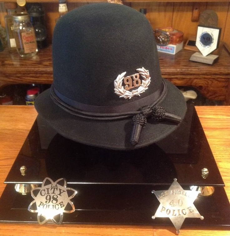 BSL 1890's REPRODUCTION LAPD HAT