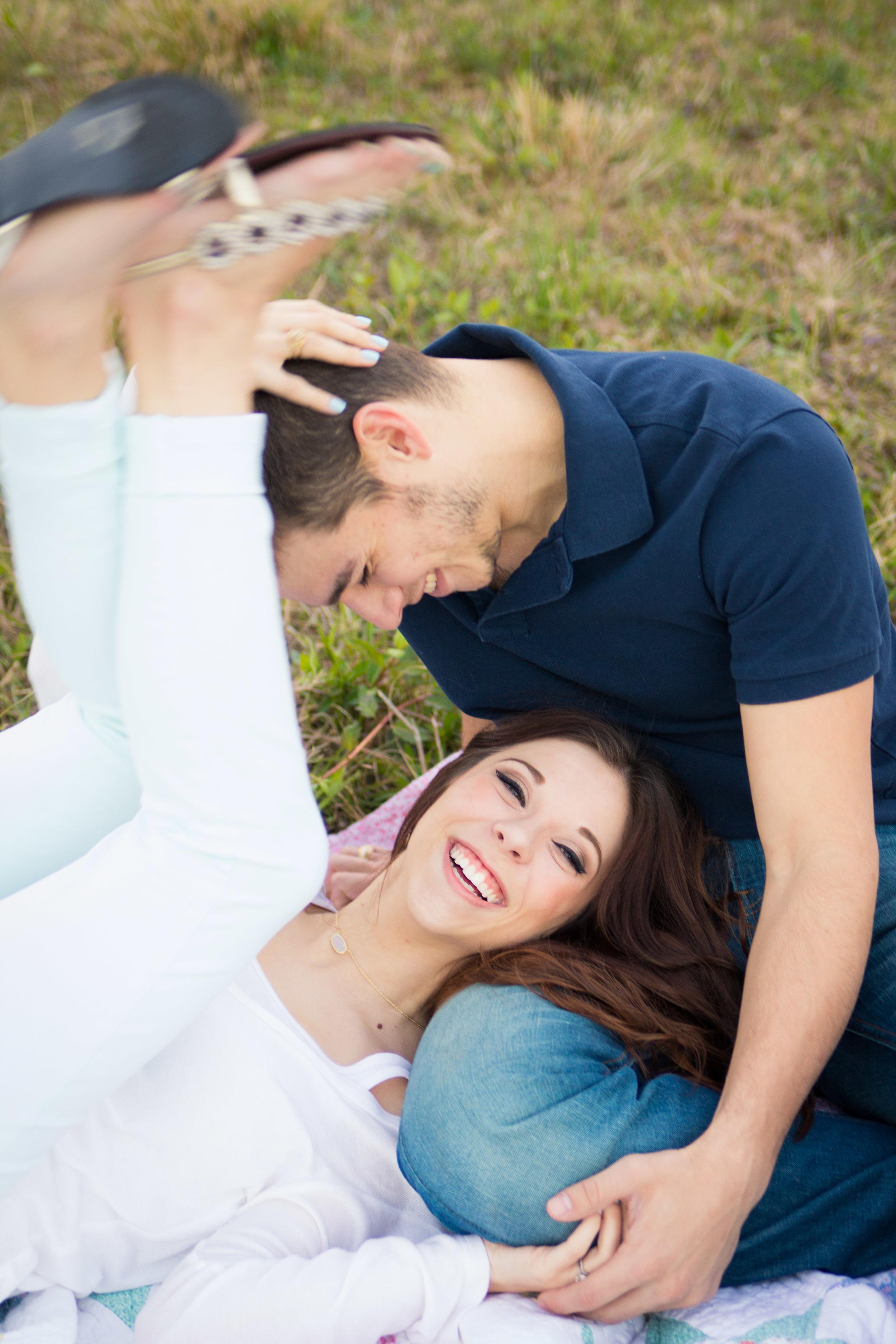 Joyful Engagement session in Central Florida