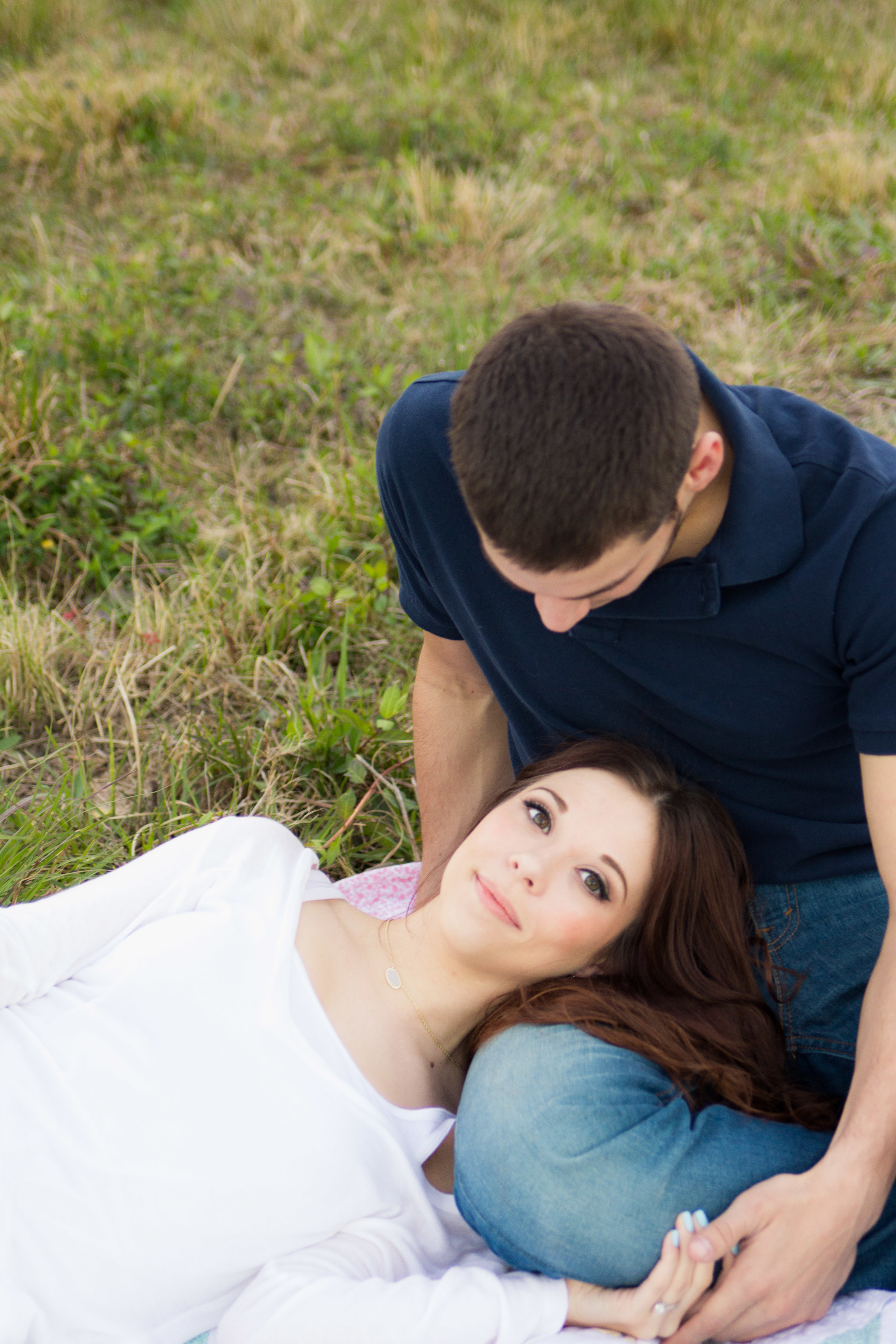 A romantic engagement photography session in Orlando