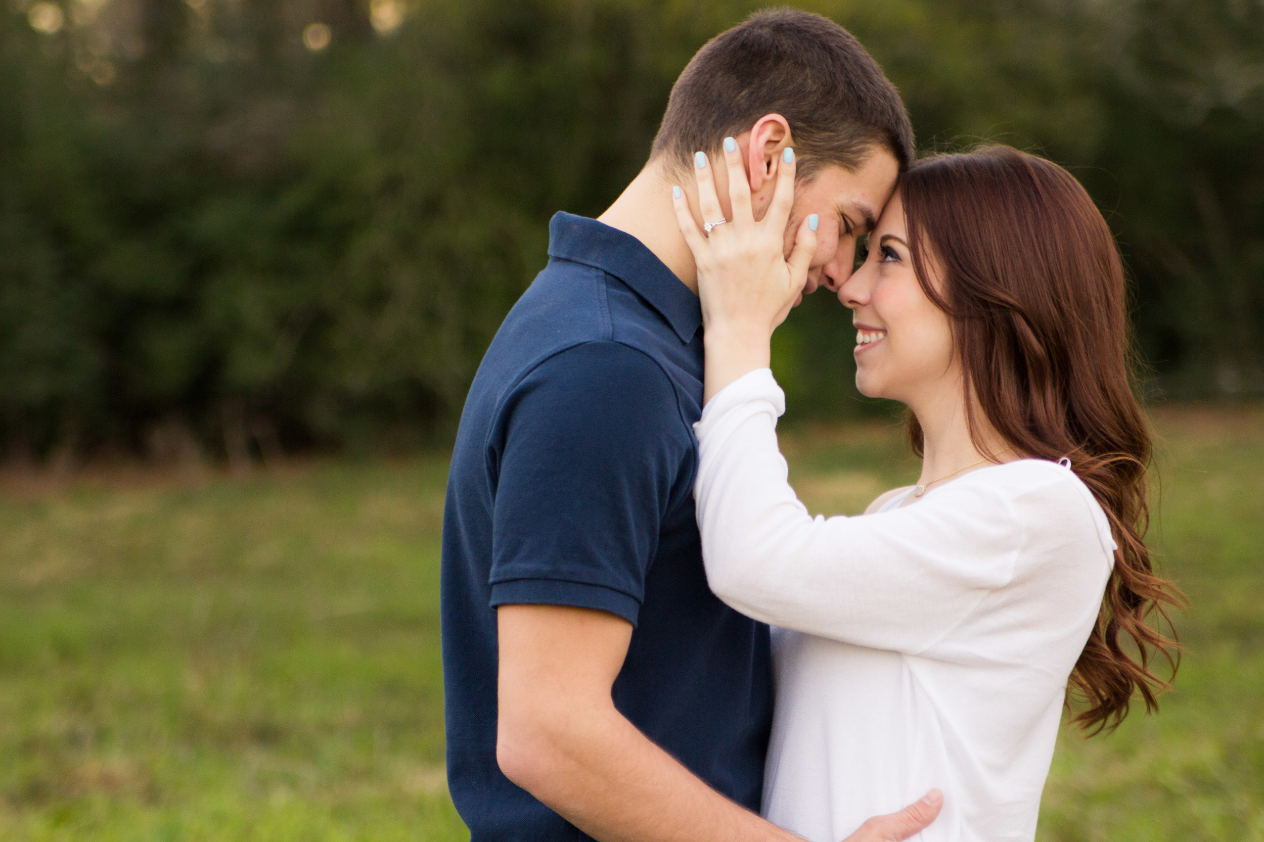 Sweet engagement session in Orlando Florida