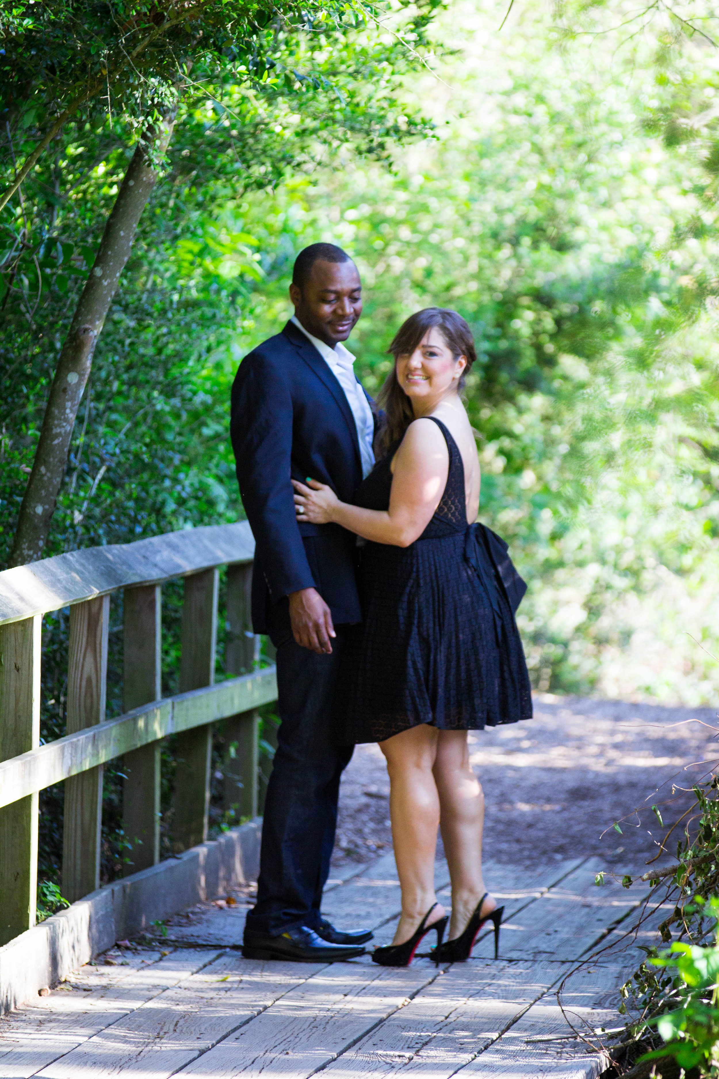 Candid engagement photography in central florida