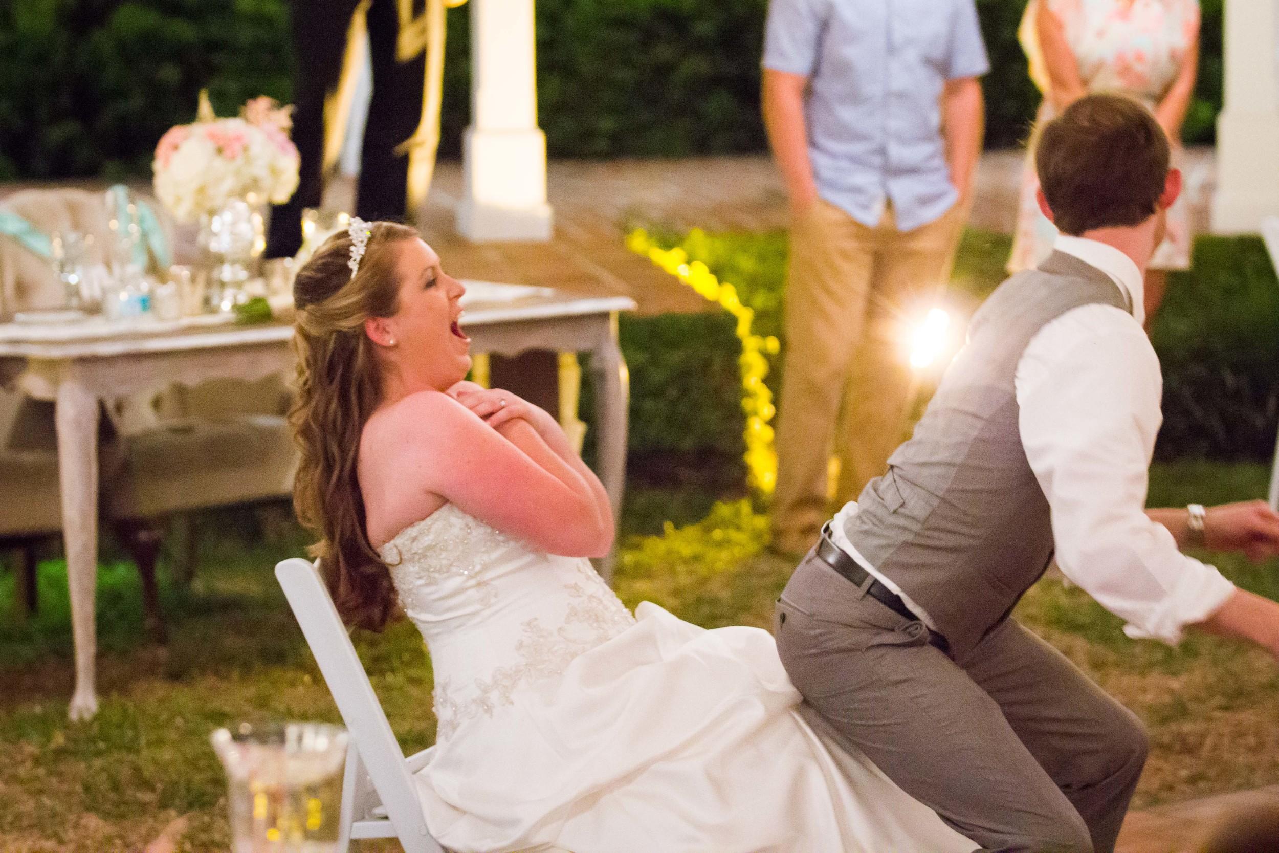 Fun wedding at Cypress Grove