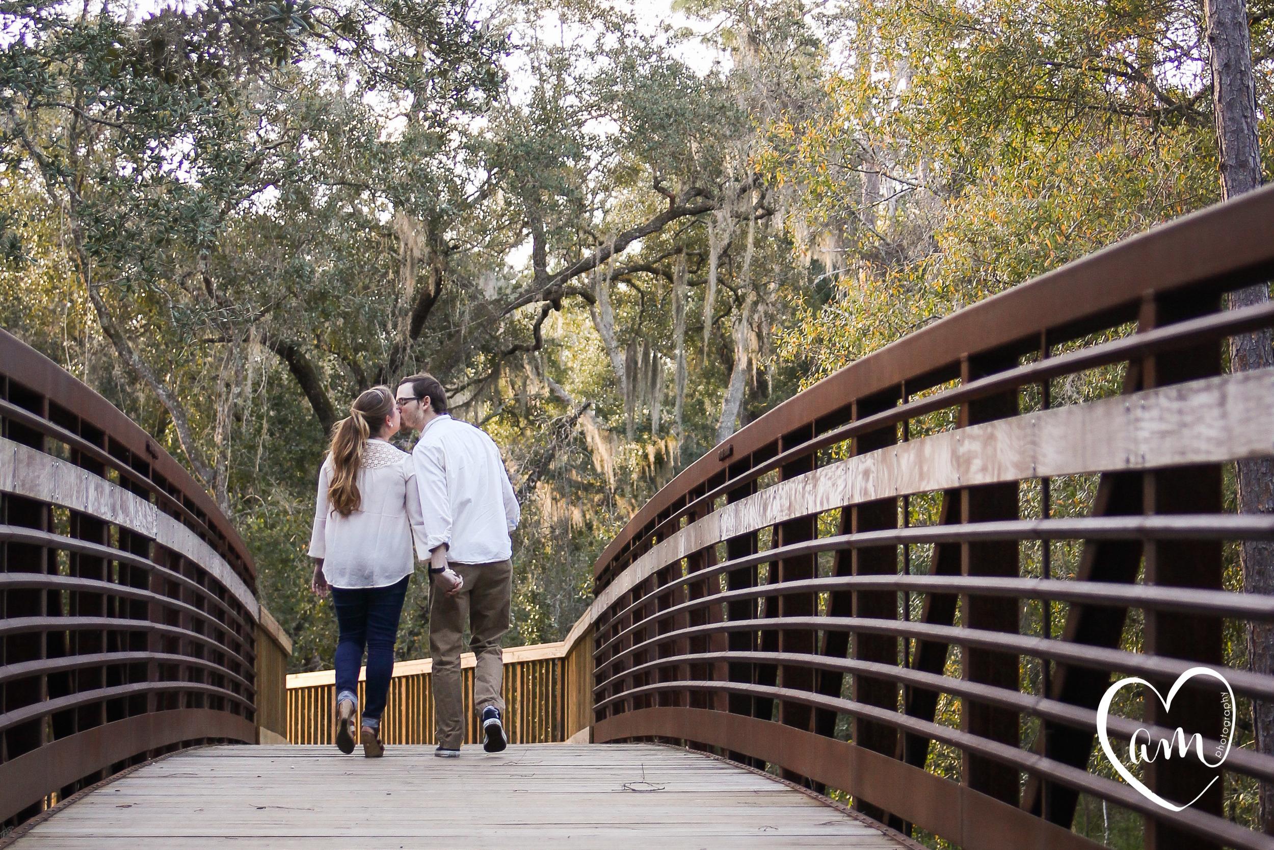 fun engagement photography at shingle creek regional park