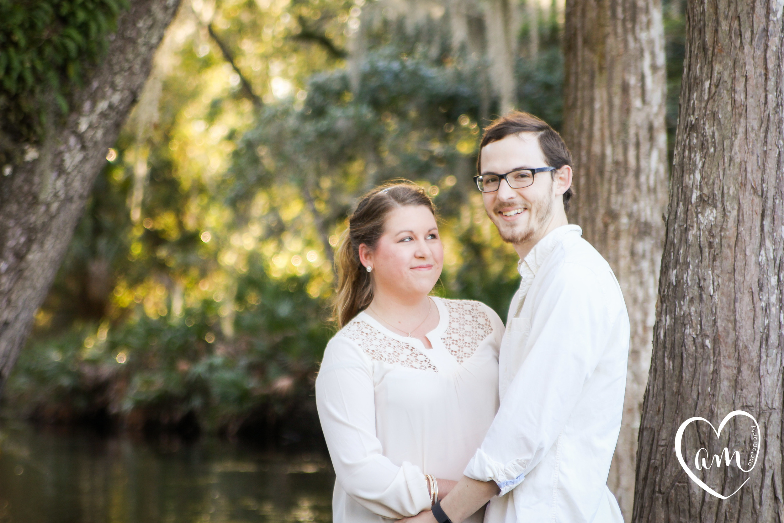 Quirky engagement photos in kissimmee