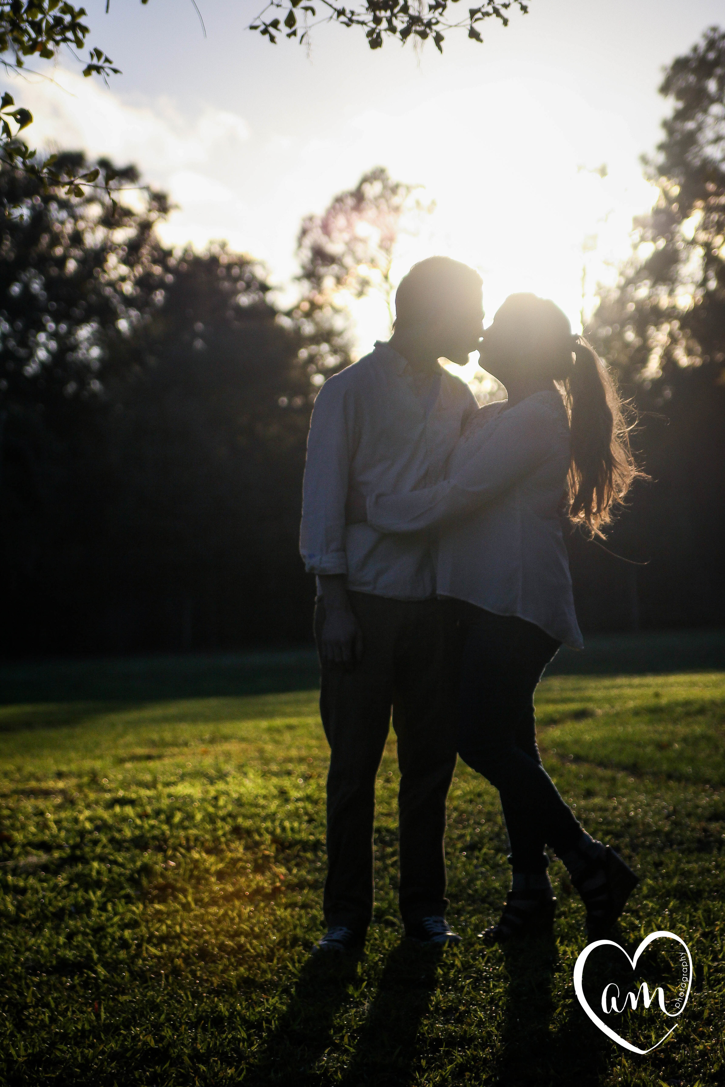 Whimsical engagement photography session in kissimmee