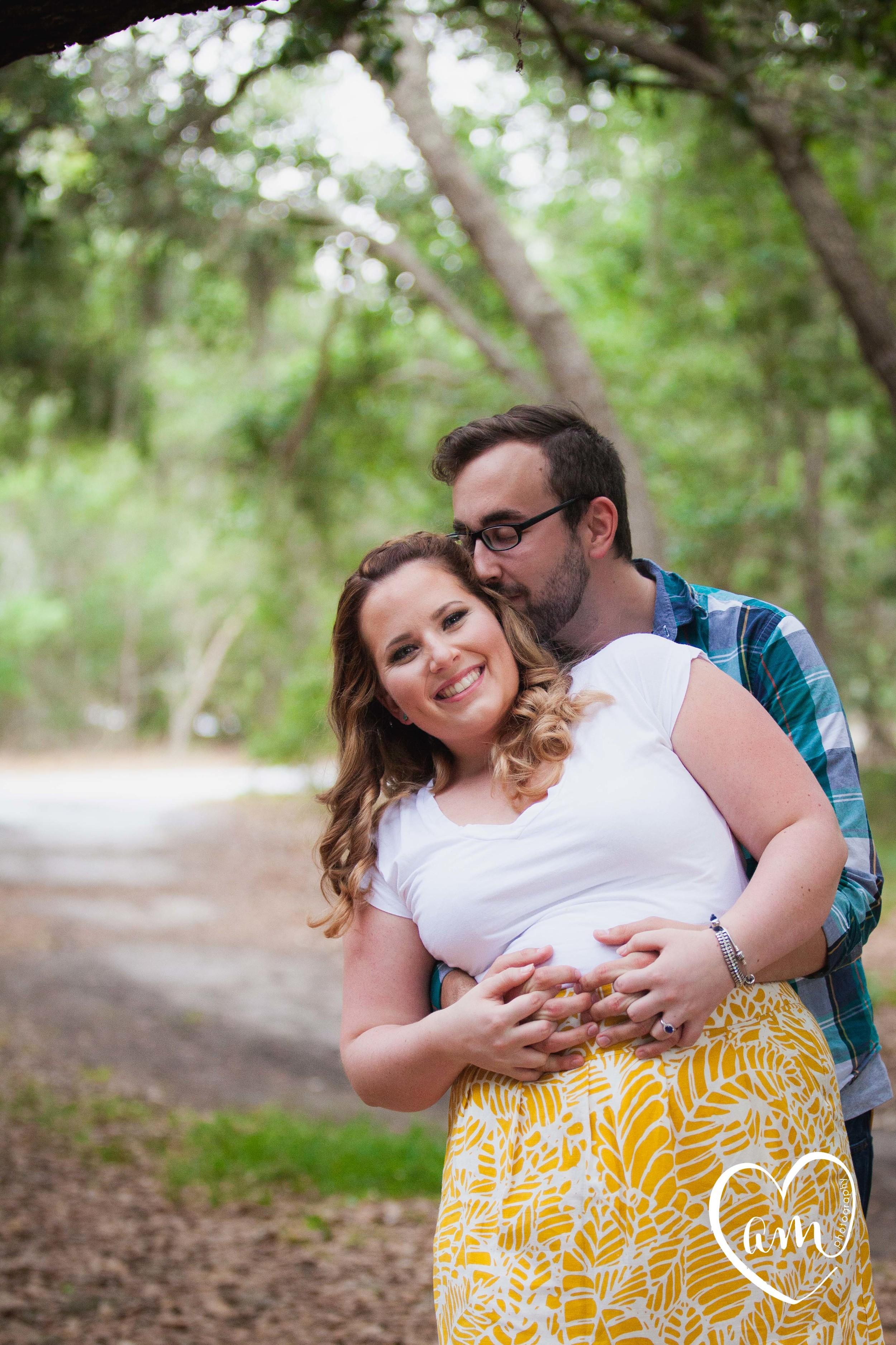 Fun filled engagement photos taken by Orlando destination wedding photographer