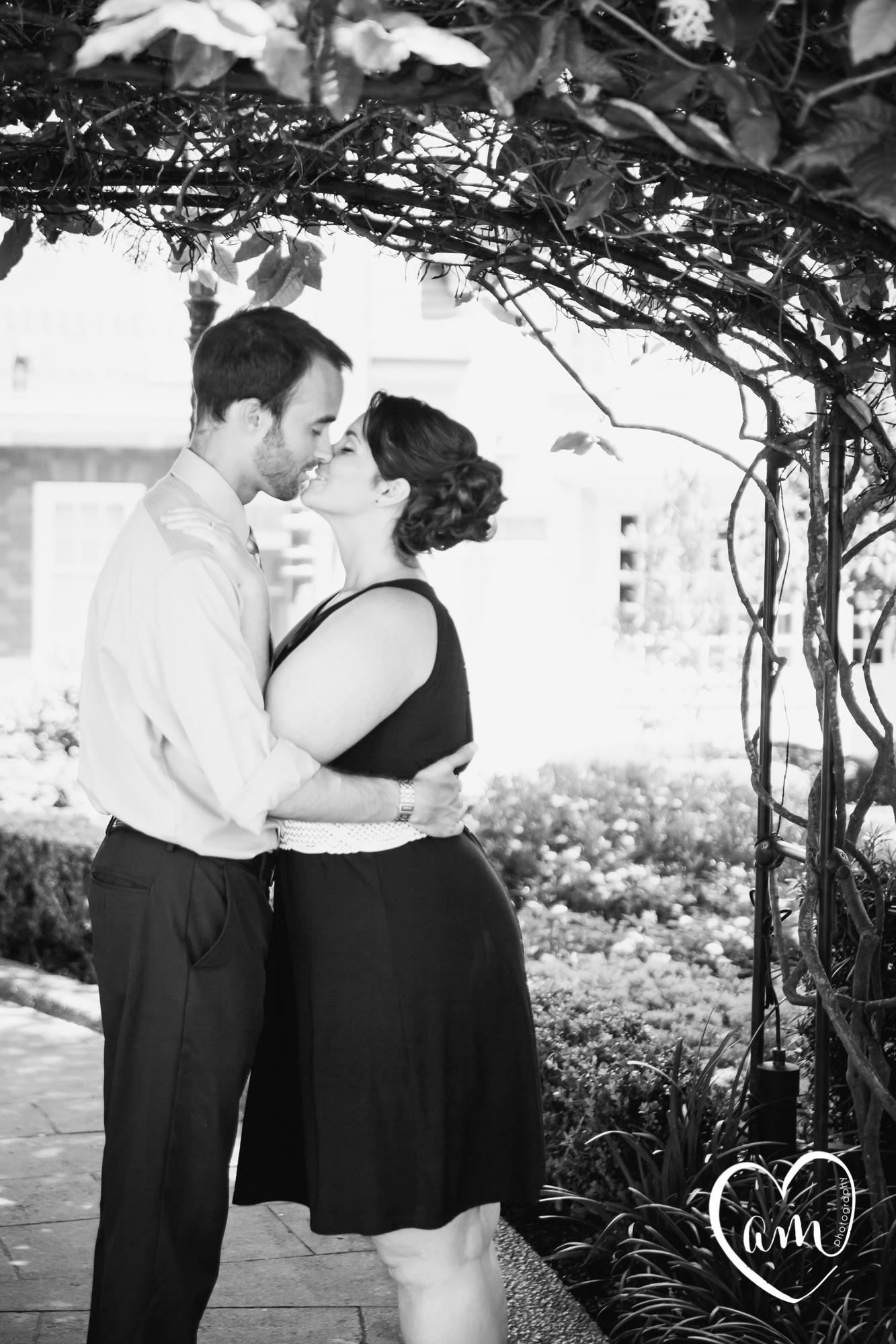 Epcot Engagement Session by Amanda Mejias Photography: Destination Wedding Photographer