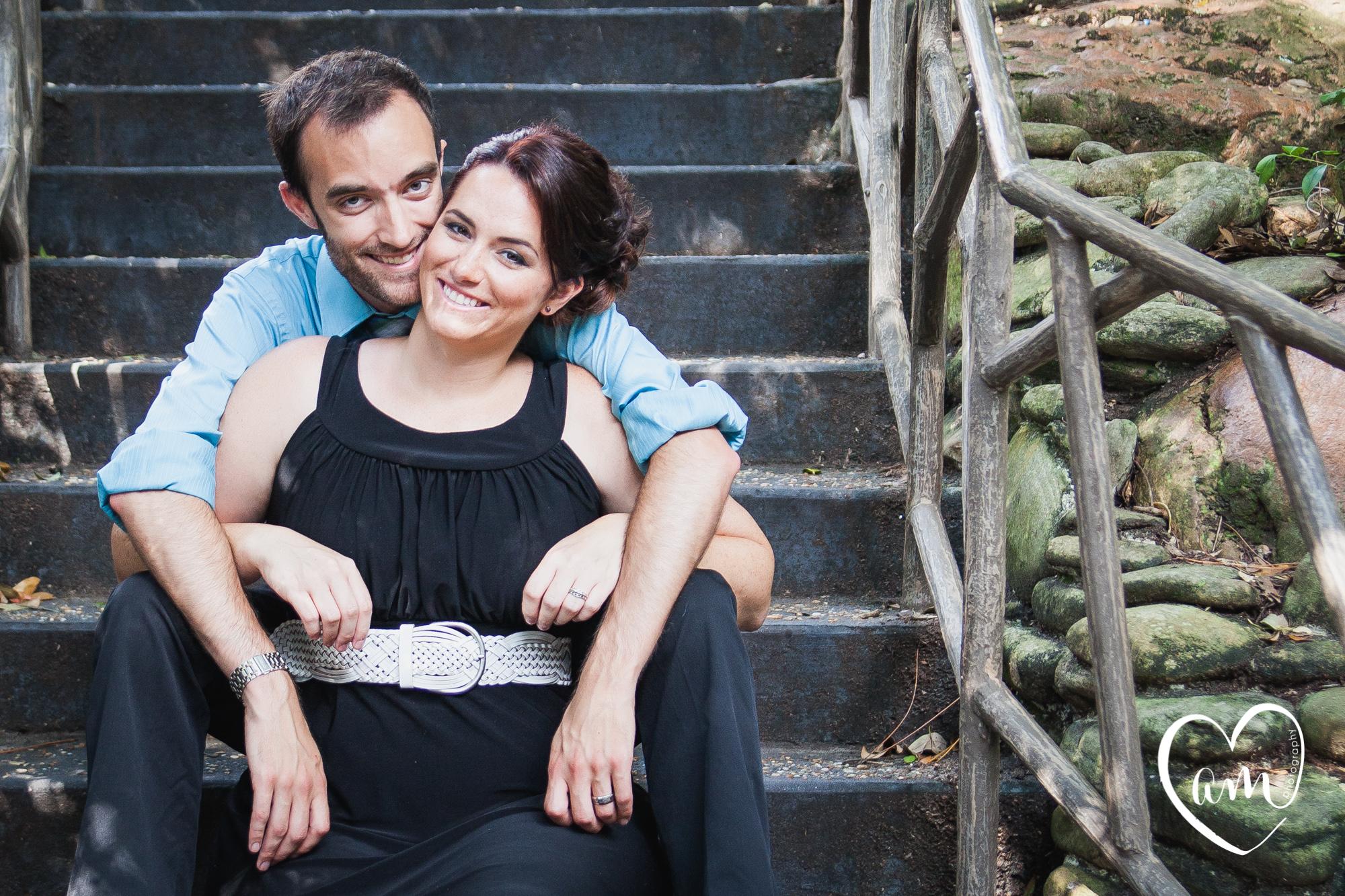 Magic Kingdom Engagement Session by Amanda Mejias Photography: Destination Wedding Photographer