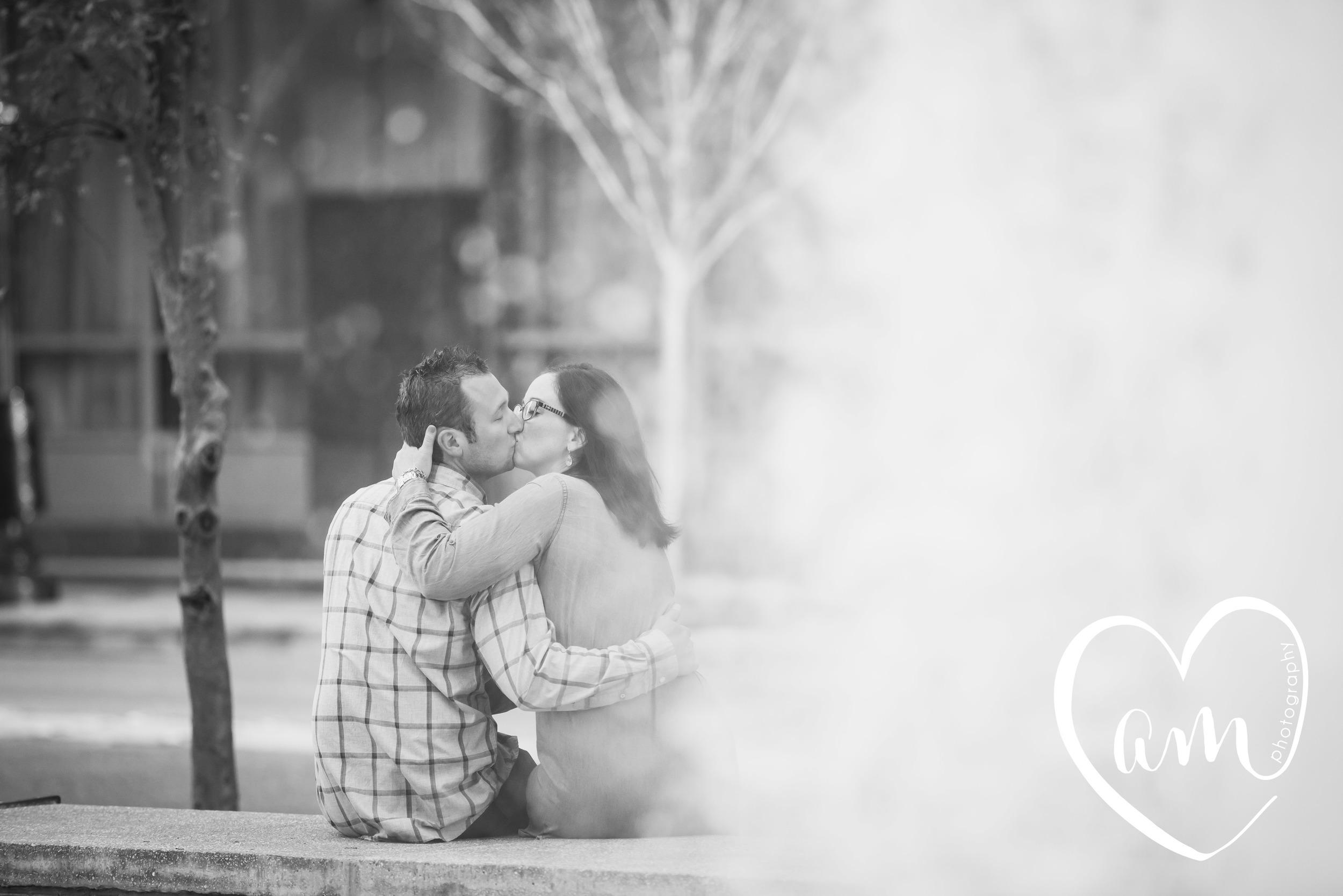 Urban Orlando engagement photos. Church Street engagement session. Photo by Amanda Mejias Photography: Orlando wedding photographer.