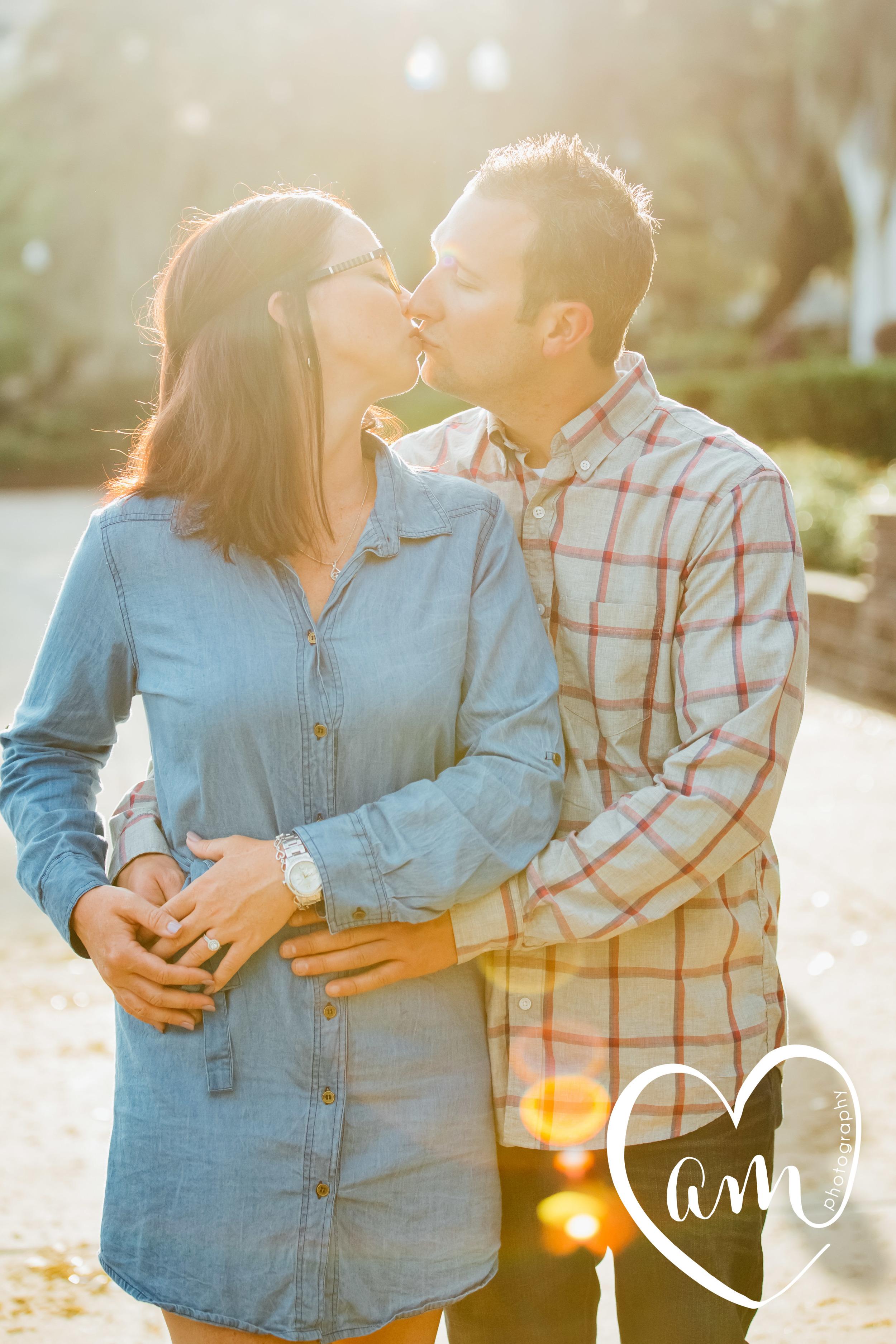 Sunny Orlando engagement photos. Church Street engagement session. Photo by Amanda Mejias Photography: Orlando wedding photographer.