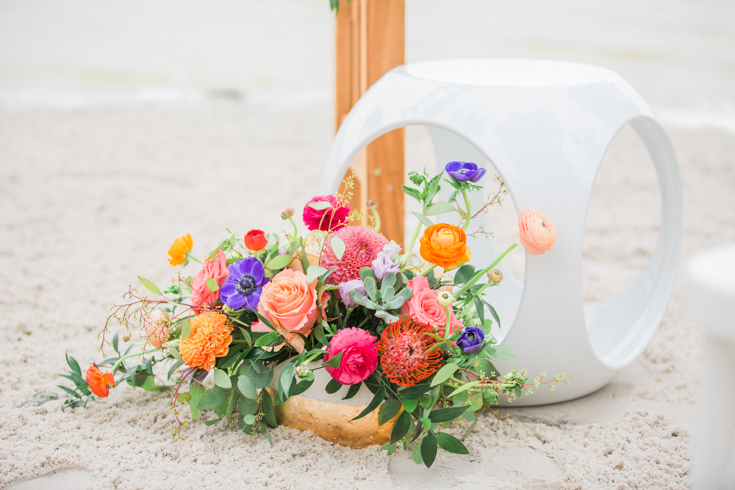 Colorful Beach wedding in Florida
