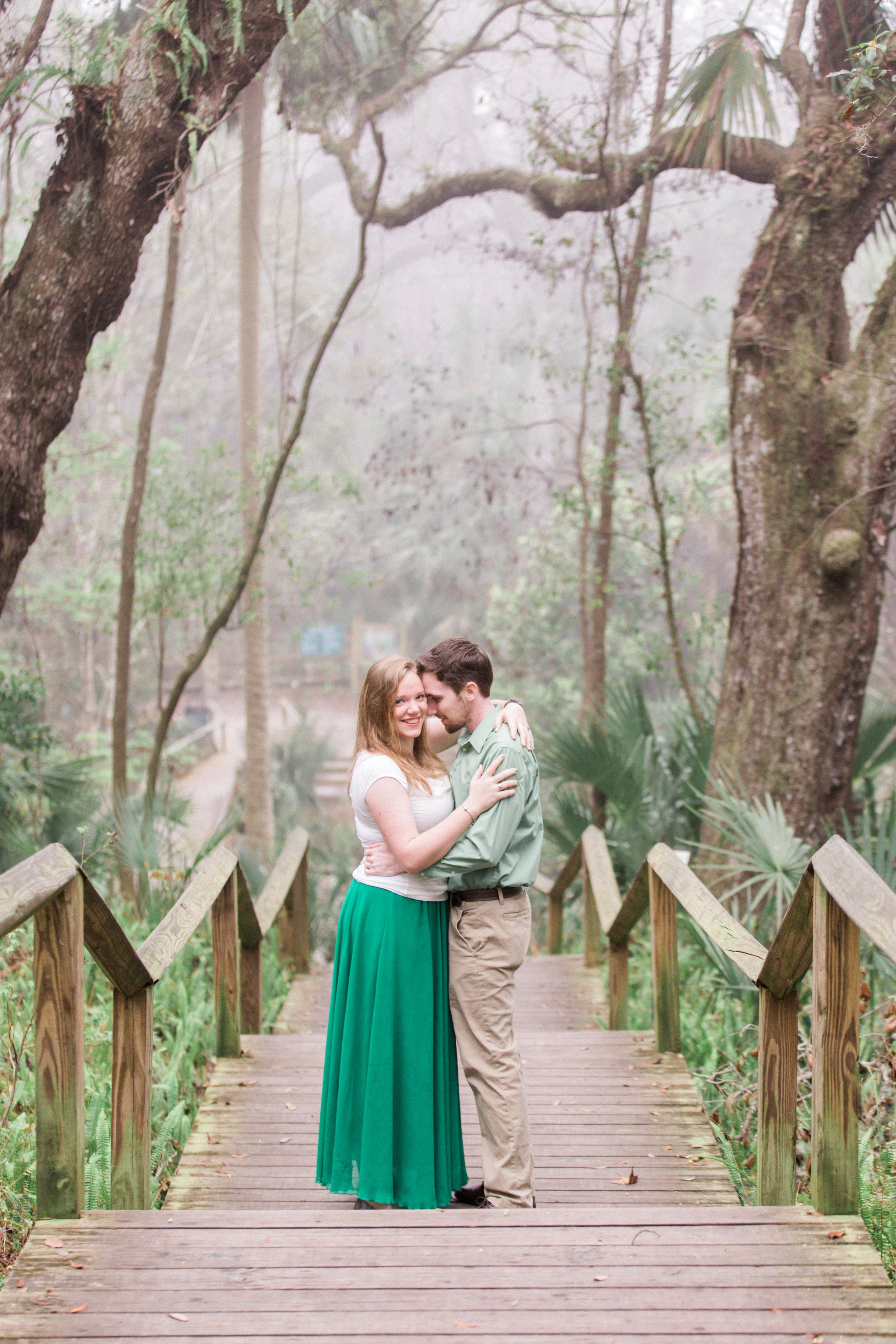 Rock Springs Engagement Session by Orlando luxury wedding photographer