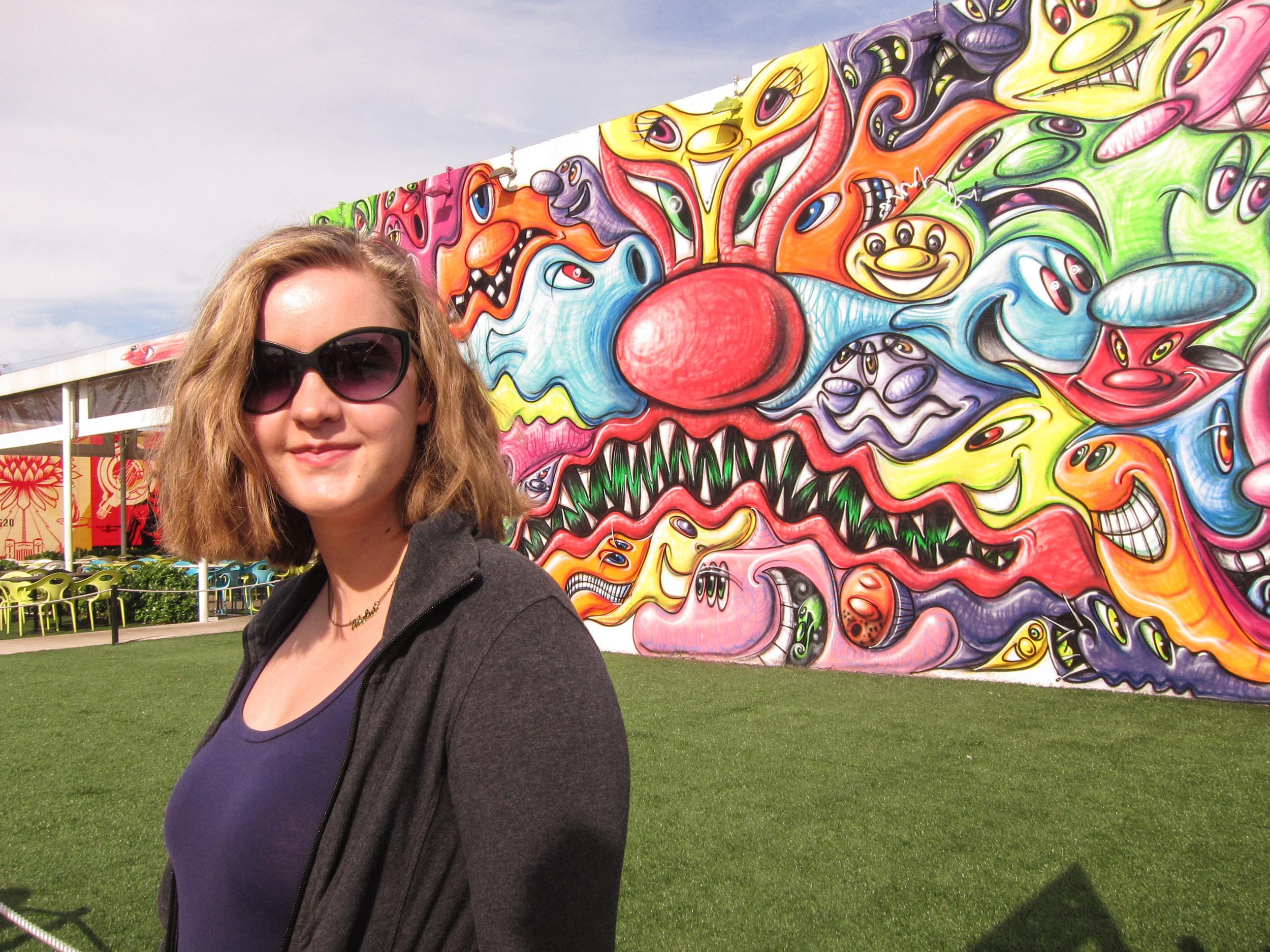 Kara Summey with Trinity Photography in Wynwood Miami FL.