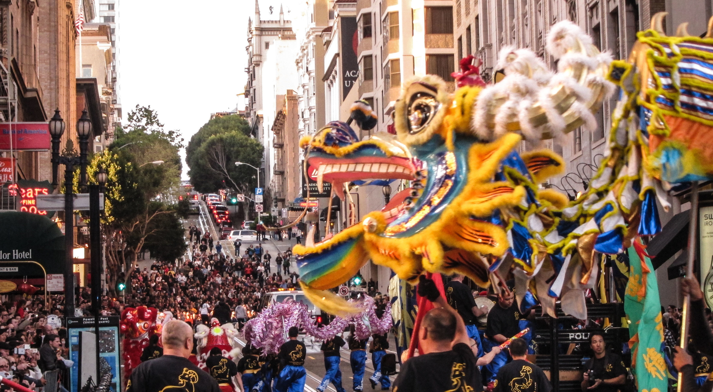 This is one of the top 10 Chinese parades in the world!