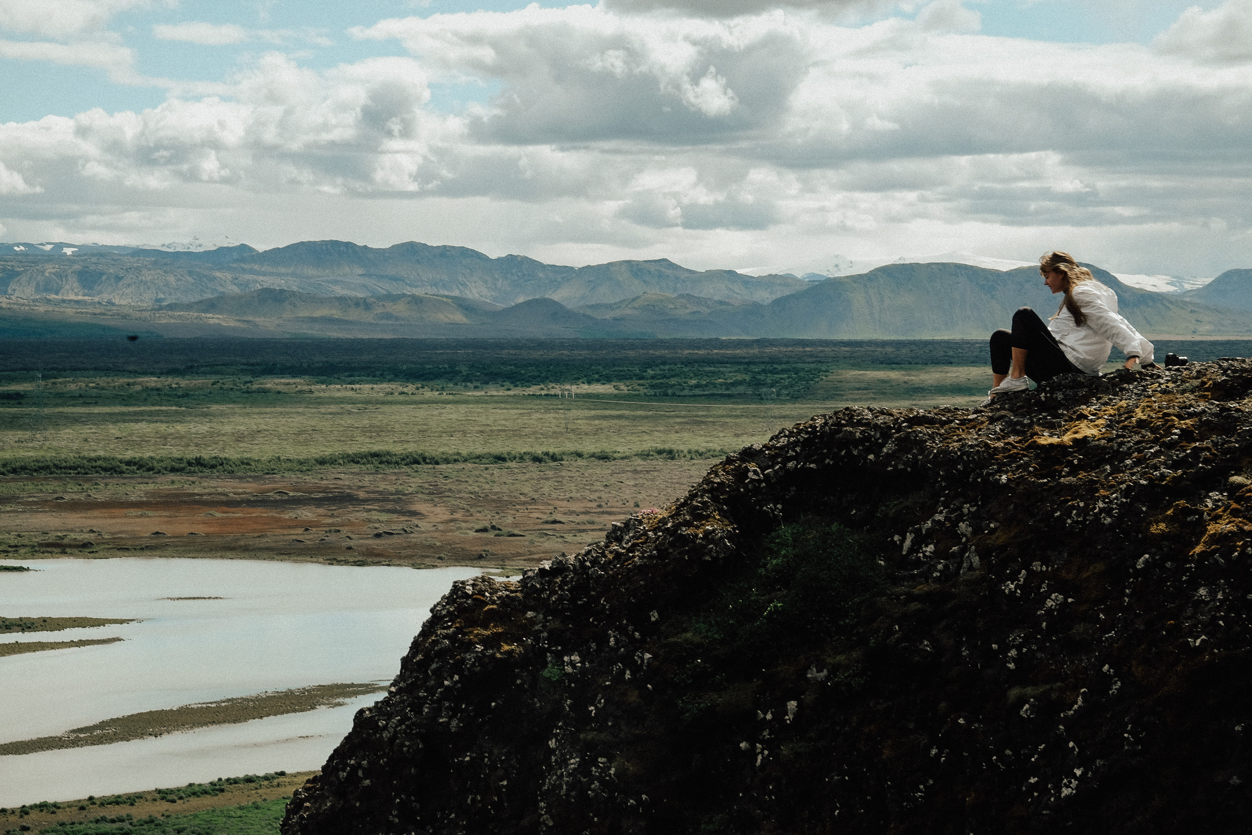 Life motto for touring Iceland... always take off on random backroads, we ended up finding views like this to picnic at just by detouring on a whim.
