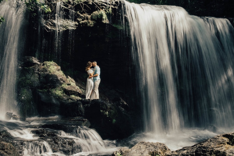 Waterfall Engagement in South Carolina