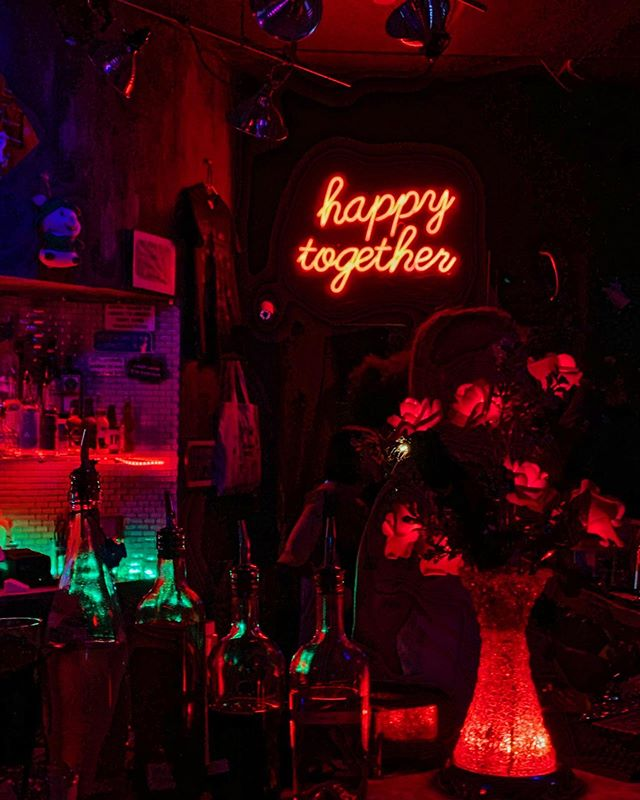 imagine how the world could be so very fine, so happy together 🍸🧚♀️