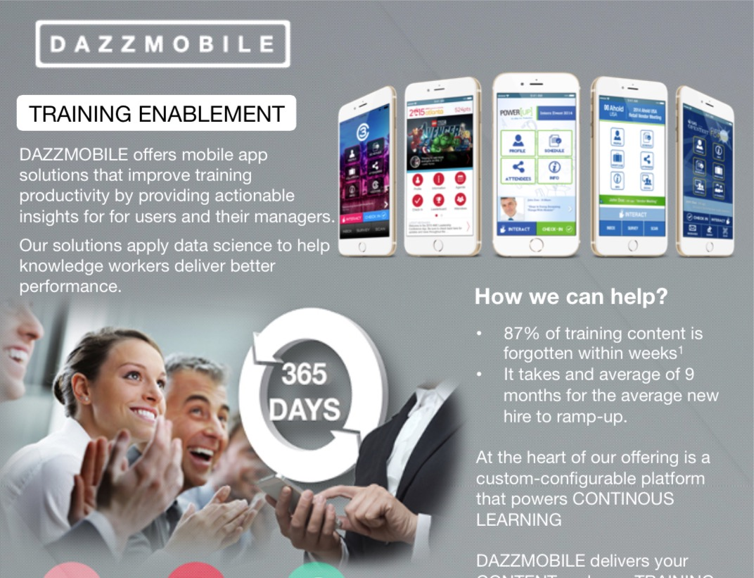 Training Enablement 2-pager - Click to view/download