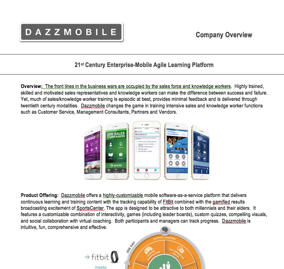 Dazzmobile Company Overview