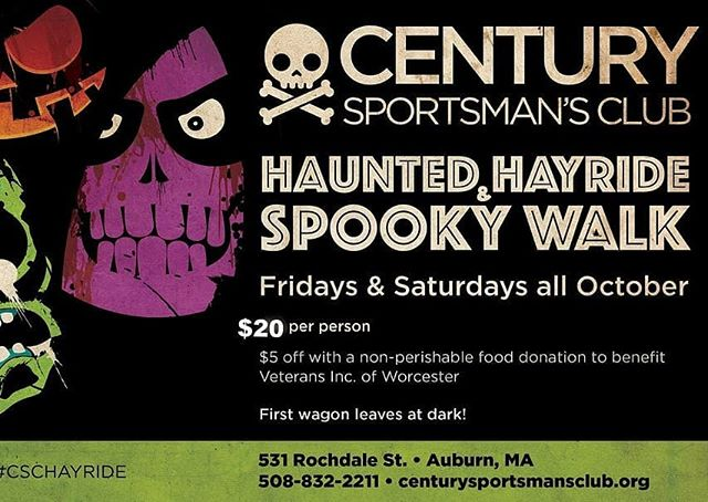 Come out to the kickoff weekend for the #HauntedHayride & #SpookyWalk #halloween #halloweenattraction