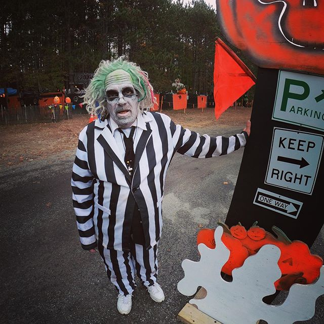 Tonight!! First wagon leaves at dark. In the meantime ask BeetleJuice about our drink specials.