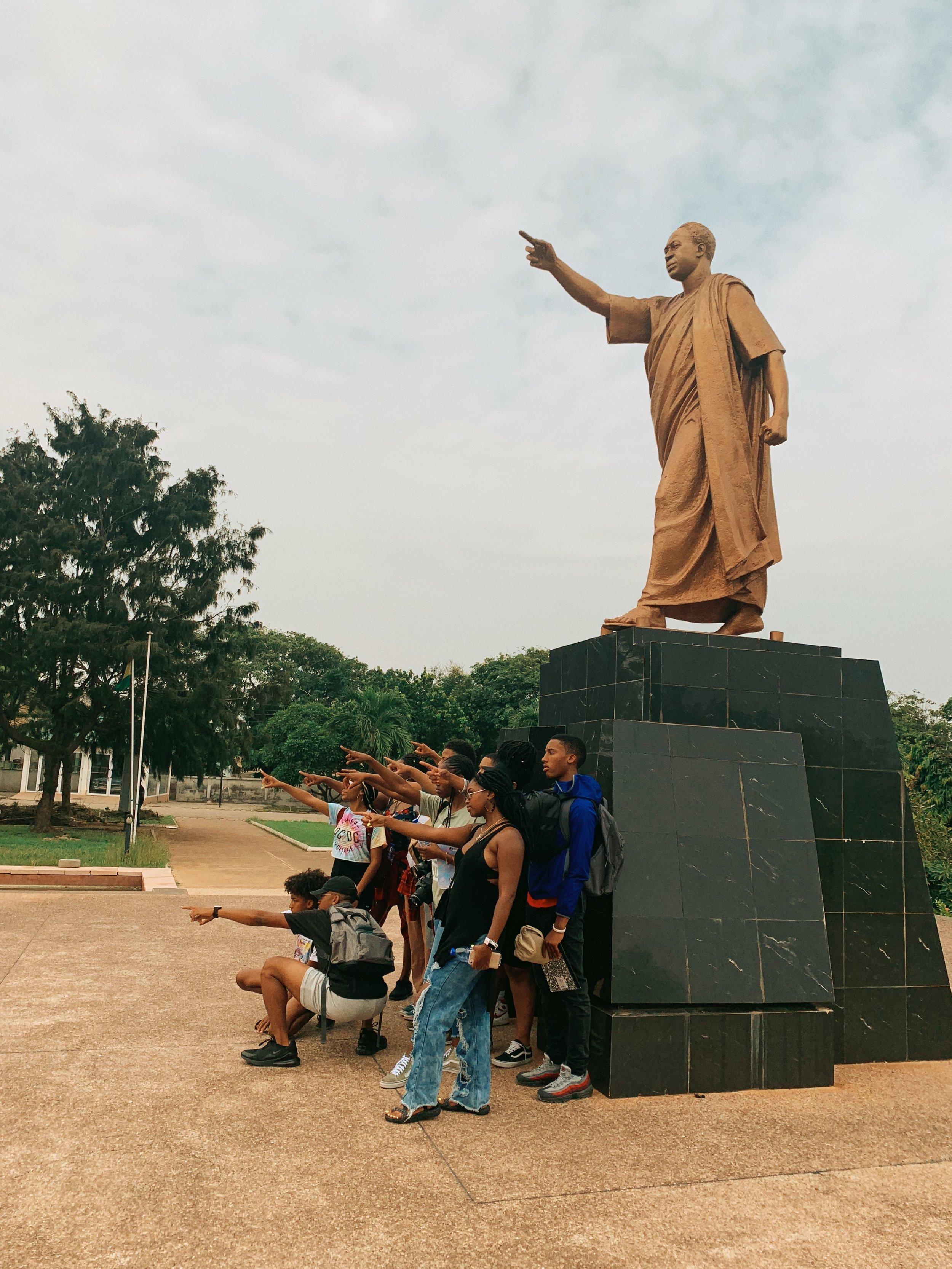 NGS x kwame nkrumah memorial park, ghana.
