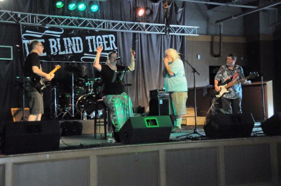 Stained Glass Canoe with friends performing at The Blind Tiger in Greensboro, North Carolina...a benefit for a good friend.