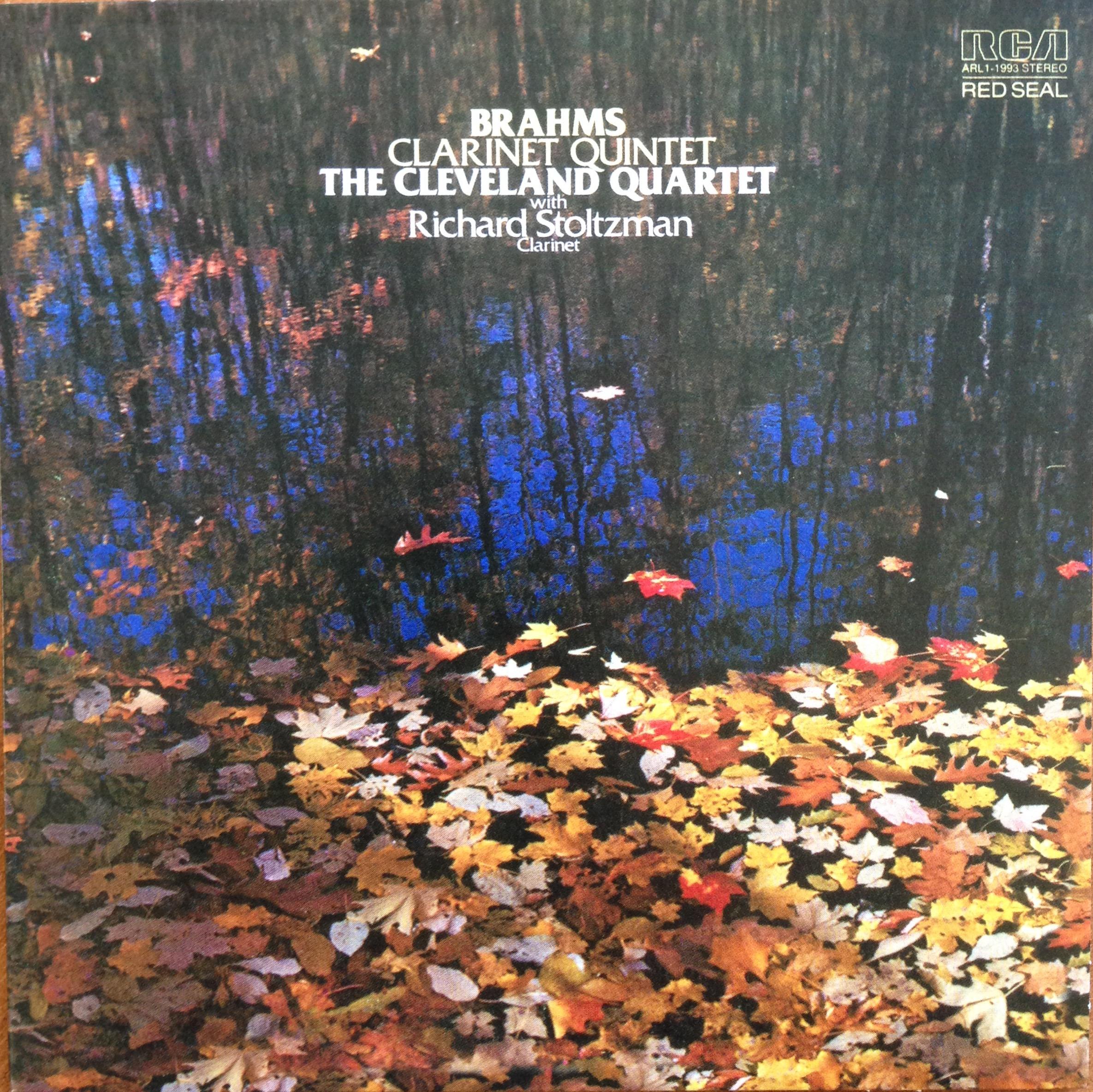 RS CD #2 Brahms Clarinet Quintet