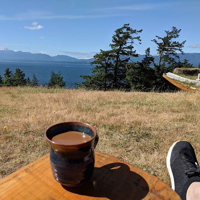 #coffeelyfe #beautifulbc #hornby #islandlife  #sorrynotsorry