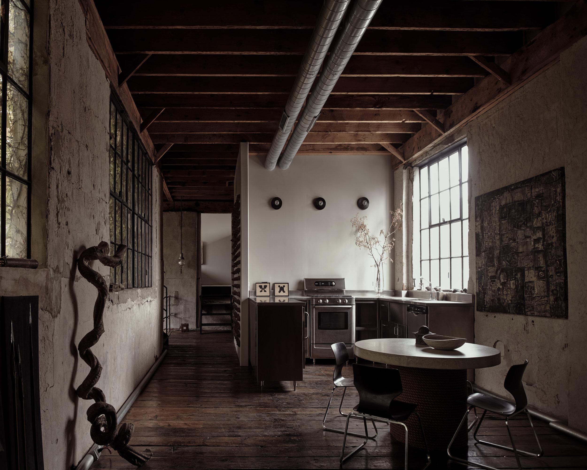 Architectural Artifacts owner Stewart Grennan's residence