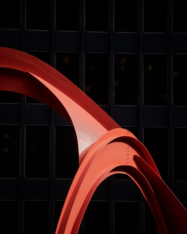 Alexander Caulder flamingo sculpture chicago