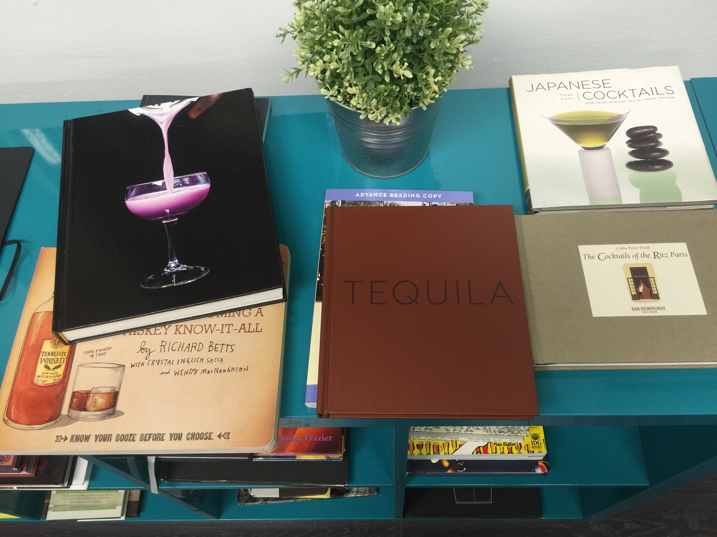 A Few Cocktail Books