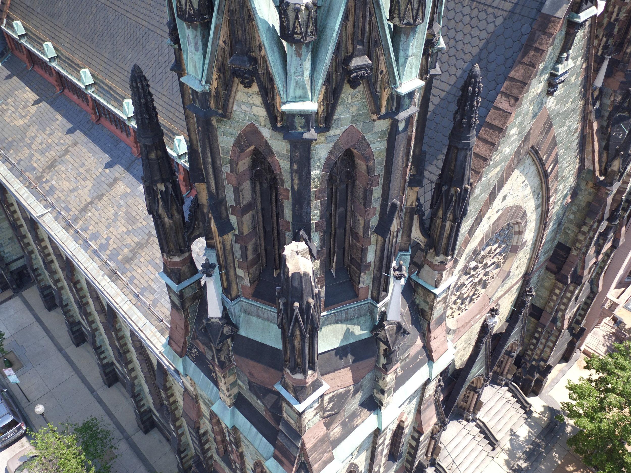 Church facade inspection