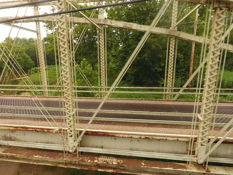 Truss bridge - partial
