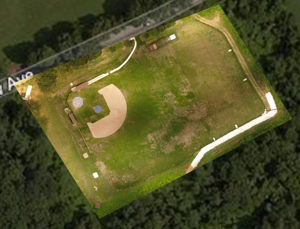 Baseball Field - Orthomosaic