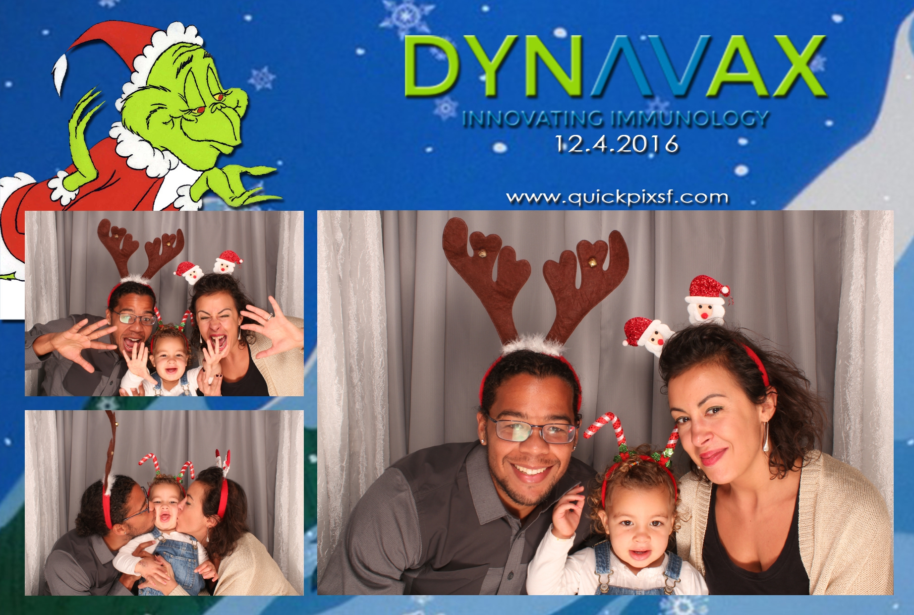 Dynavax brought us back for a second year to help them celebrate the holidays with their family! The folks at Dynavax are so sweet and it was our pleasure coming back and seeing familiar faces. Happy Holidays to the great people at Dynavax!
