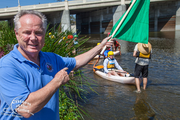 1st annual LA River Boat Race was held on August 30, 2014