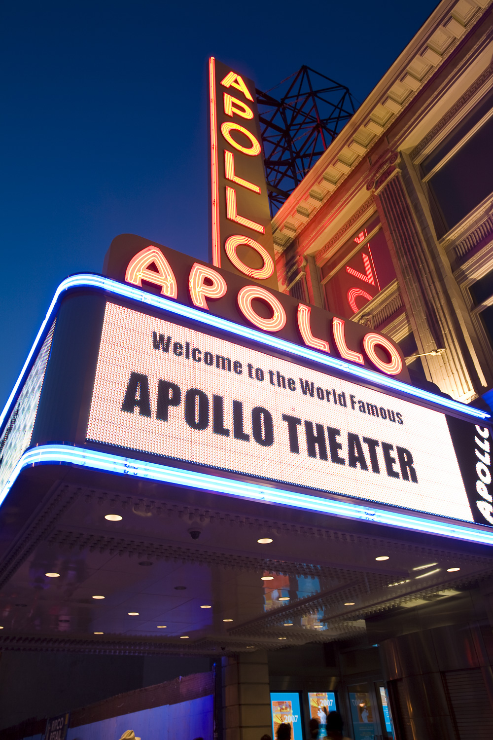 Apollo Theater, 125th Street, Harlem, Manhattan, New York
