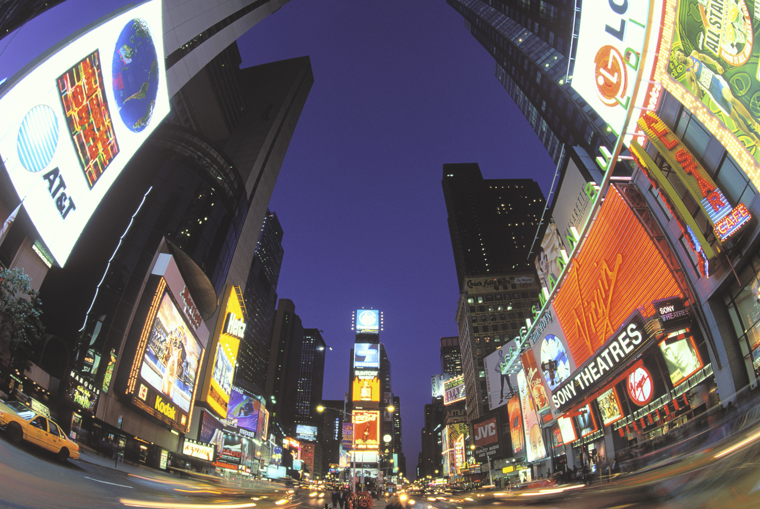 Times Square, Looking North, Manhattan, New York