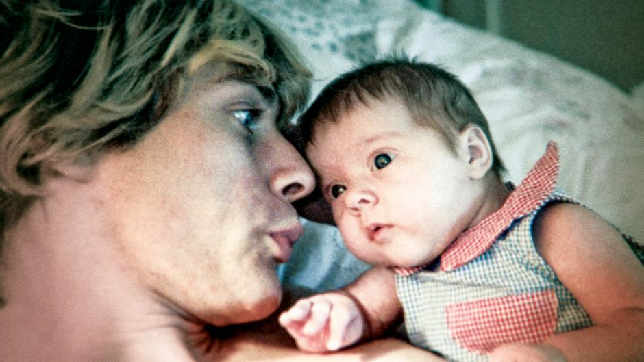 Cobain and daughter Frances Bean