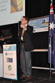 Tim Lothe Raven at the WFC Educational Conference in Perth, Australia in 2012.