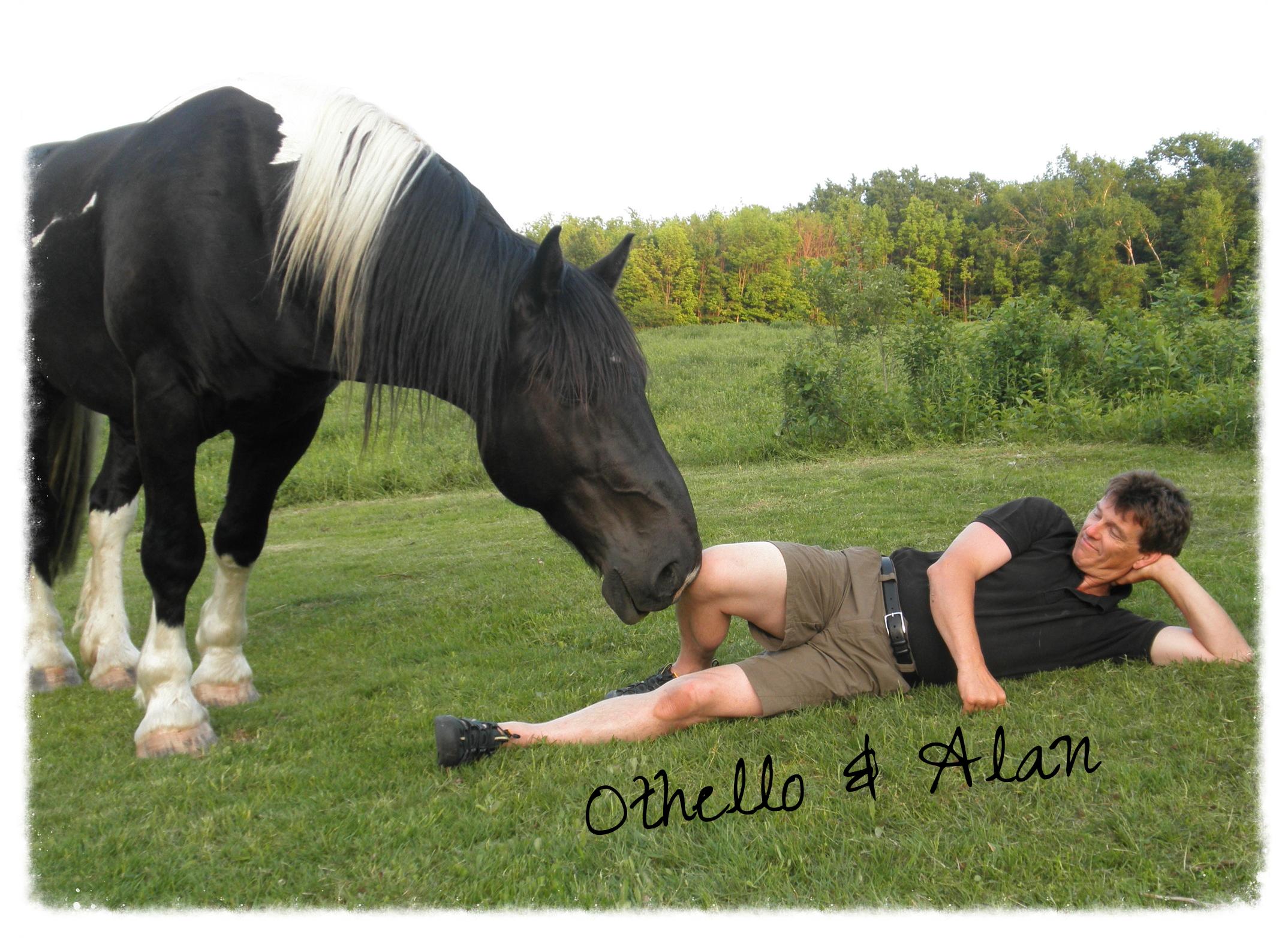 Alan with Lakota's brother Othello
