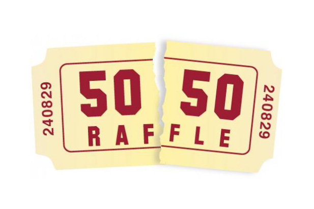 Daily 50/50 draw
