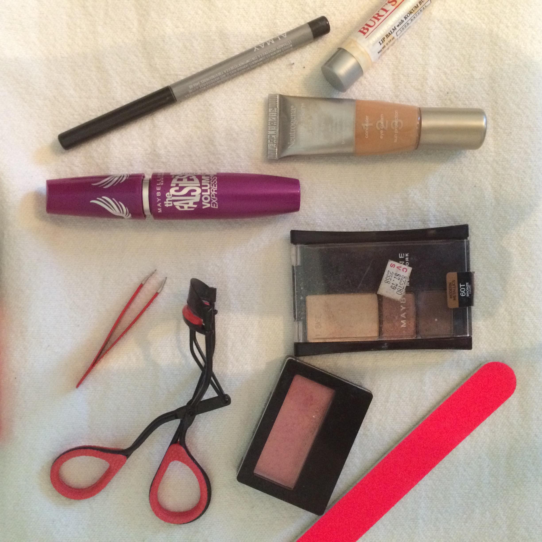 makeup photo shoot