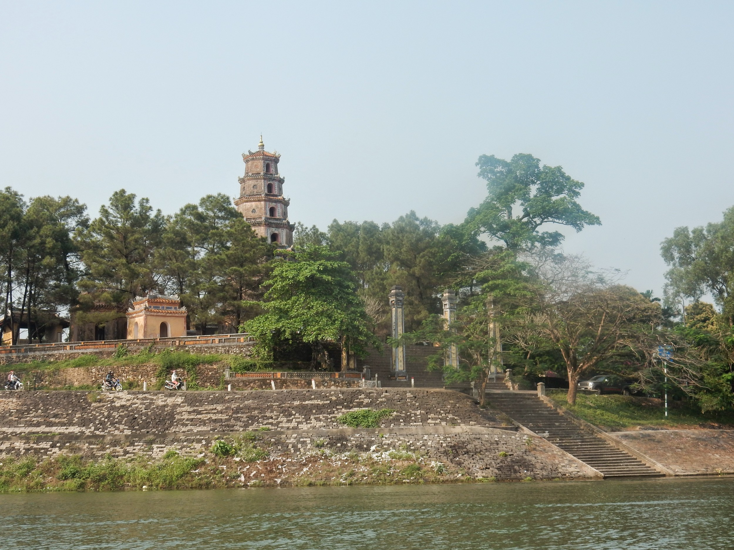 pagoda from river